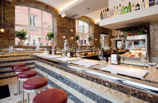 Barrafina Tapas in COvent Garden
